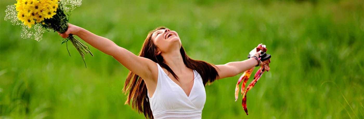 Ressentez le bien-être et la Joie de vivre